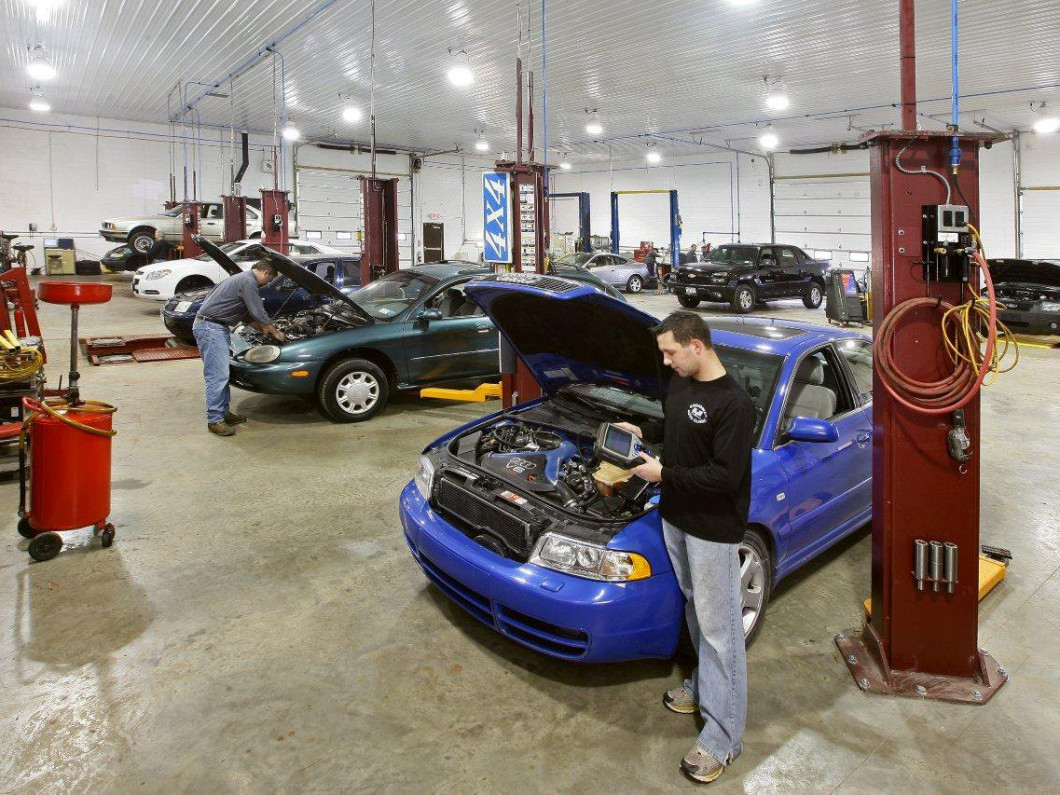 We'll walk you through the auto repair process