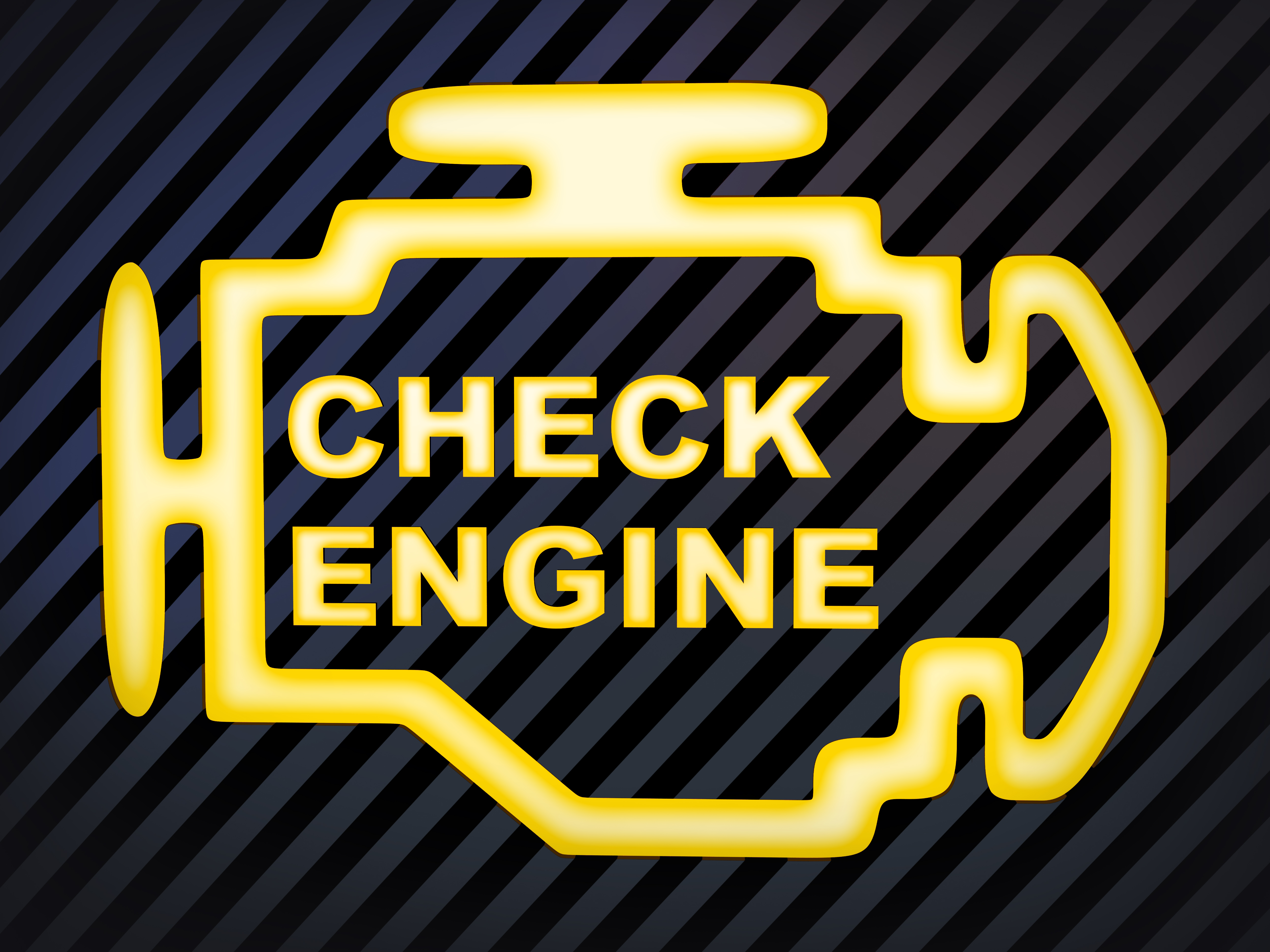 Reasons why your check engine light might be on